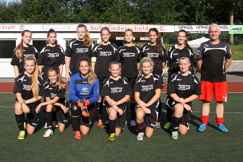 B-Juniorinnen 2015/2016